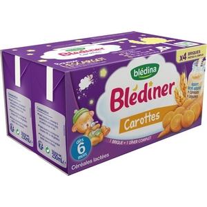 Blédiner carottes dès 6 mois 4x250ml