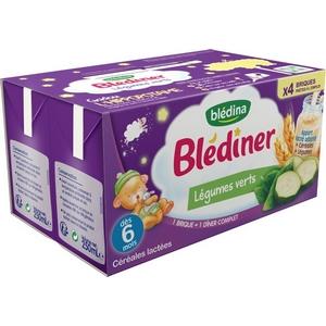 Blédiner légumes verts dès 6 mois 4x250ml