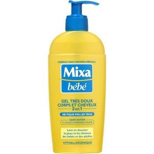 Mixa bébé gel corps et cheveux très doux 250ml