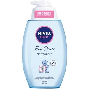 Nivéa baby eau douce nettoyante 750ml