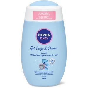 Nivéa baby gel coprs et cheveux 200ml