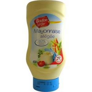 Bouton d'or mayonnaise allégée 60% M.G. 450g