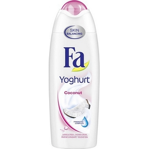 Gel douche FA yoghurt coconut 250ml