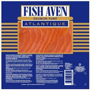 Fish Aven saumon fumé d'atlantique 100g