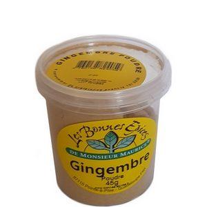 Les bonnes épices de Monsieur Maurice gingembre en poudre 45g