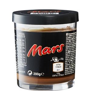 Pâte à tartiner Mars 200g