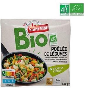 Saint Éloi poêlée de légumes Bio 600g