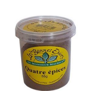 Les bonnes épices de Monsieur Maurice quatre épices 55g