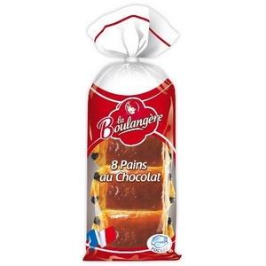 La boulangère 8 pains au chocolat pocket 360g