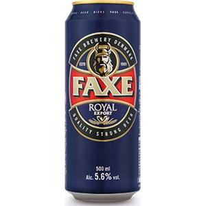 Bière faxe royal export 5,6% alc. Vol. 500 ml