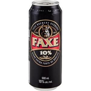Bière faxe royal strong 10% alc. Vol. 500 ml