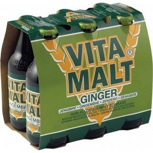 Bière Vitamalt gingembre blle 6x33cl