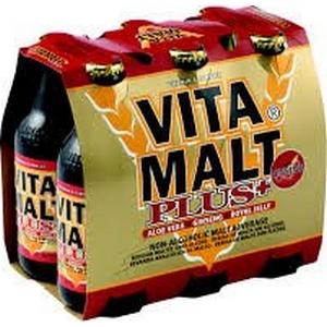 Bière Vitamalt plus blle 6x33cl