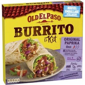 Old el paso burrito le kit original paprika 510g