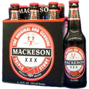 Bière Mackeson blle 6x33cl