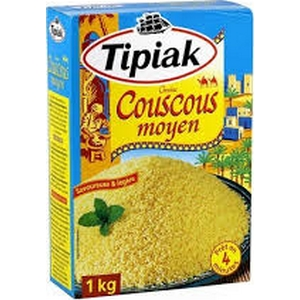 Tipiak couscous grain moyen 1kg