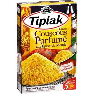 Tipiak couscous parfumé aux épices du monde 510g