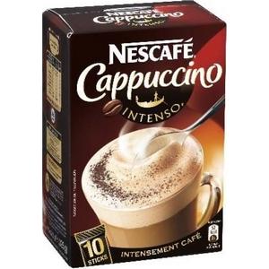 Nescafé cappuccino intense 10 sticks x 12,5g