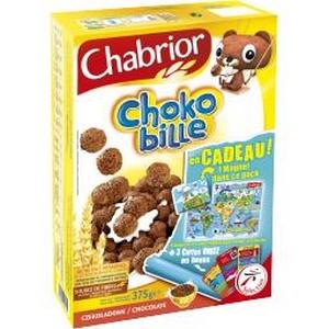 Chabrior céréales chokobille 375g