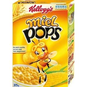 Céréales kellogg's miel pops 400g
