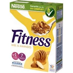 Fitness céréales miel amandes 375g