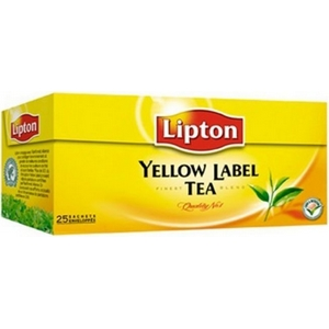 Lipton thé yellow 25 st.