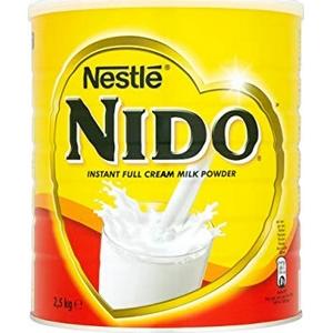 Lait entier en poudre Nido 2500g