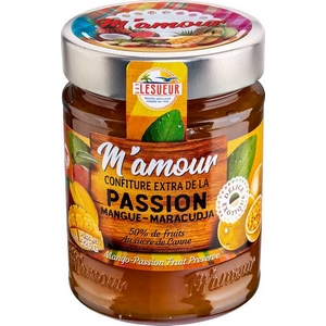 M'amour confiture mangue-maracudja 325g