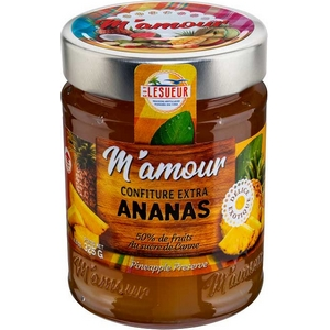 M'amour confiture d'ananas 325g