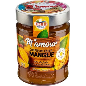 M'amour confiture de mangue 325g