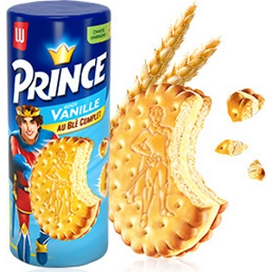 Lu prince vanille 300g