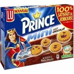 Lu prince mini choco 168g