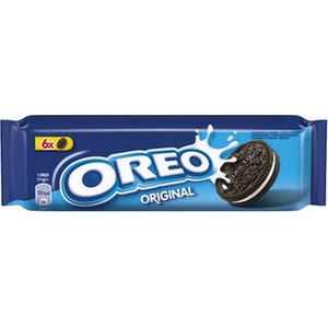 Biscuits cacaotés fourrés vanille oréo original 66g