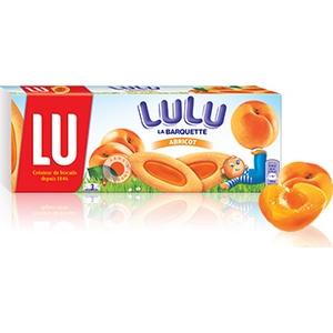 Lu barquette abricot 120g