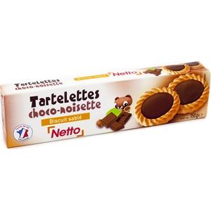 Netto tartelettes choco-noisette 150g
