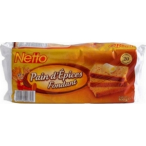 Netto pain d'épices au miel 500g