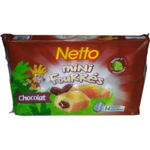Netto mini moelleux chocolat cœur fondant 14x30g 420g