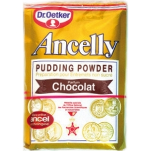Ancelly pudding chocolat x 4