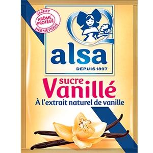 Sucre vanille alsa x12 90g
