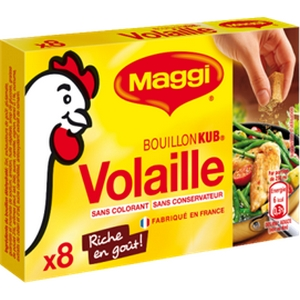 Maggi bouillon kub volaille x8 80g