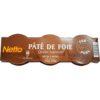 Paté foie netto lot 3x80 240g