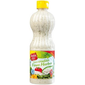 Bouton d'or vinaigrette sauce crudités fines herbes 500ml