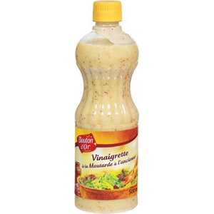 Bouton d'or vinaigrette a la moutarde a l'ancienne 500ml