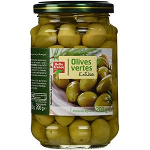 Belle france olives vertes entières 37cl