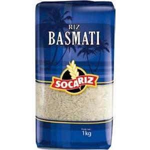 Riz socariz basmati 15% 1kg