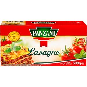 Panzani pâtes lasagne 500g