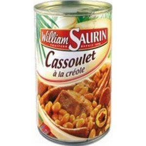 W. saurin cassoulet à la créole 1/2 420g