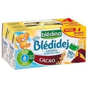 Blédidej cacao 4x250ml