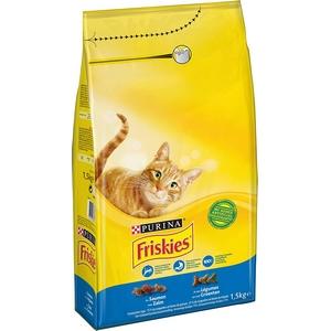 Friskies croquettes chat au saumon et légumes ajoutés 2kg