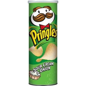 Pringles crème oignon 165g